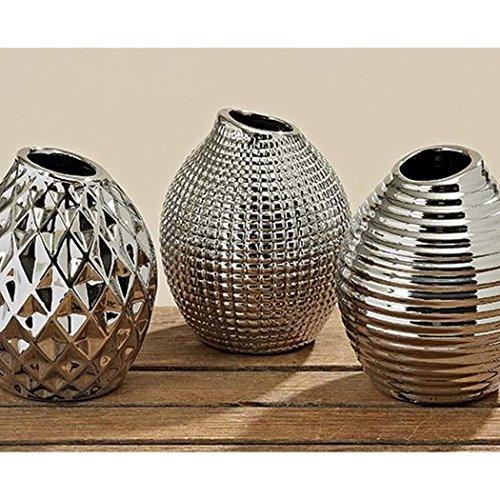 Boltze Vase Celly 3sort H13cm