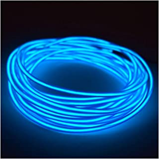 5mm EL Wire Kit - Blue - 5 FT Premium from GlowCity