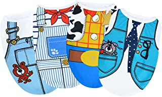Sebaoyu Dog Clothes For Small Medium Large Dogs Girl Boy 4 Pack-Pet Vest Outfit-Dog Apparel &...