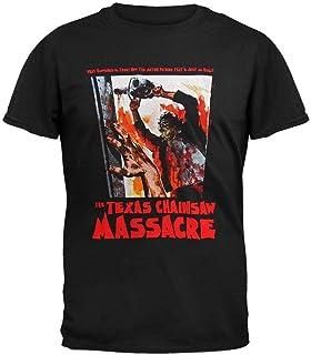 La Camiseta Divertida de Texas Masacre de la Motosierra para Hombre qué sucedió es verdadera Camiseta