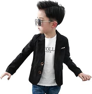 Boys' Fashion Blazers Casual Jackets