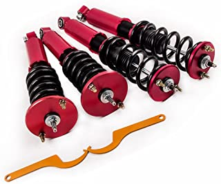 Coilovers Strut for Nissan Skyline R32 BNR32 2.0L GTS-T RB20DET 89-94 Suspension Coil Spring Shock with Adjustable Damper