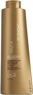 Joico K-Pak Deep Penetrating Reconstructor for Damaged Hair, 33.8 Ounce