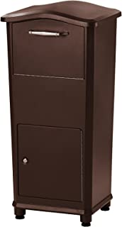 Architectural Mailboxes 6900RZ Elephantrunk Parcel Drop Box, Extra Large, Rubbed Bronze