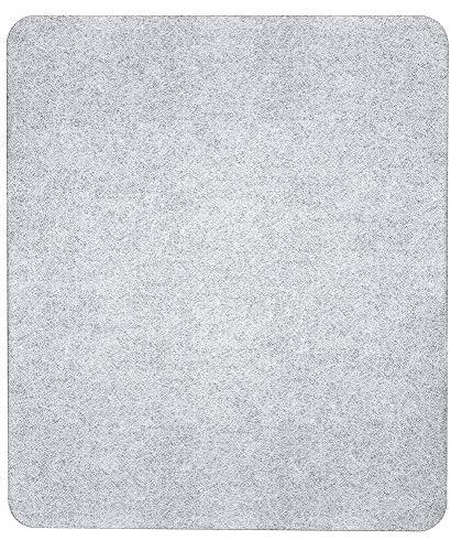 Wenko Herdabdeckplatte Universal 3 in 1, für alle Herdarten, Gehärtetes Glas, 50 x 1,8-4,5 x 56 cm, Transparent, Glasabdeckplatte