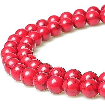 bracelet 20 perle 6mm x 4mm Rondelle Naturel Pierre Turquoise creation bijoux