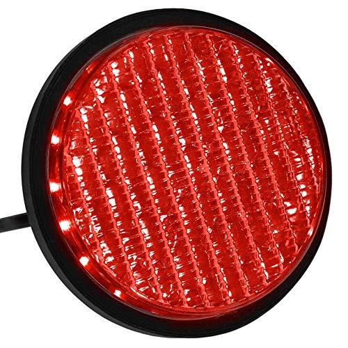 PrimeMatik - LED Licht für Ampel IP65 100mm 12-24V rot