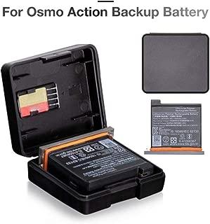 Para DJI OSMO ACTION Batería Batería original Bolsillo Accesorios para cámaras deportivas Kit de carga Batería central Caja de batería Carga