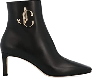 JIMMY CHOO Luxury Fashion Womens MINORI65CLFBLACK Black Ankle Boots | Fall Winter 19