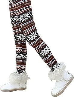 Brightup Ragazzi Ragazze Leggings Inverno Autunno Caldo Pantaloni Lunghi Elastici Collant Ragazze