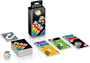 Ravensburger Push Family Card Game for Kids & Adults Age 8 & Up - Push Your Luck… but not Too far!