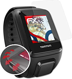 ultra clear and shock absorbing FX Screen Protector atFoliX Anti Shock Screen Protector compatible with Wahoo Elemnt Roam Protector Film 3X