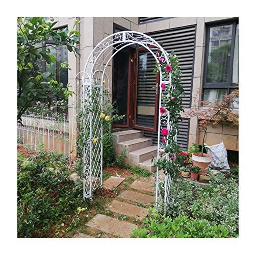 F-XW Arco de Metal Soporte para Jardín - Ideal para Cultivar Cualquier Tipo de Plantas Trepadoras - W150×40×H210cm, W180×40×H230cm, W210×40×H240cm
