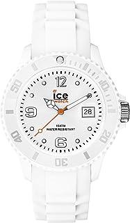 Ice-Watch - Ice Forever White - Orologio Bianco Da Donna Con Cinturino In Silicone - 000124 (Small)