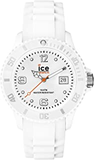 Ice-Watch Unisex SI.WE.U.S.09 Sili Collection White Plastic and Silicone Watch