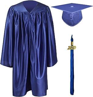 Best GraduationMall Shiny Kindergarten & Preschool Graduation Gown Cap Set with 2020 Tassel Reviews