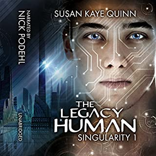 The Legacy Human audiobook cover art