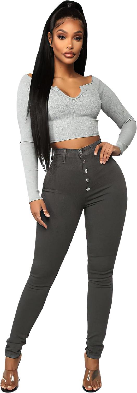 Direct sale of manufacturer Women High Waist Skinny Stretch Hip Jeans Denim Lift NEW Pants