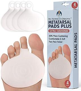 پدهای اصلی Metatarsal Plus دکتر فردریک - 4 قطعه - 50٪ بالشتک بیشتر - پد های مخصوص پا