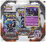 Pokemon Sun & Moon Burning Shadows 3-Booster Blister Pack, Cosmog
