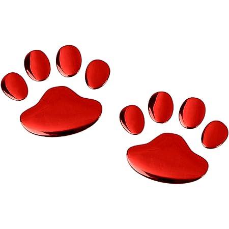 Preskin 3d Gecko Roter Süßer Aufkleber Selbstklebender Metall Optik Relief Sticker Decal Für Auto Kfz Motorrad Roller Notebook Haustür Kühlschrank Auto