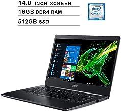 Acer 2020 Aspire 5 Newest 14 Inch FHD 1080P Laptop, 8th Gen Intel 4-Core i7-8565U up to 4.6GHz, Intel UHD 620, 16GB DDR4 R...
