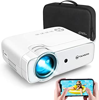 VANKYO Leisure 430W Mini Wi-Fi Projector, Full HD 1080P Supported Projector with Synchronize Smart Phone Screen, Video Por...