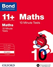 Bond 11+: Maths: 10 Minute Tests: 8-9 years