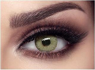 عدسات ملونة من ايليت بيلا - 3 اشهر - اخضر زمردي