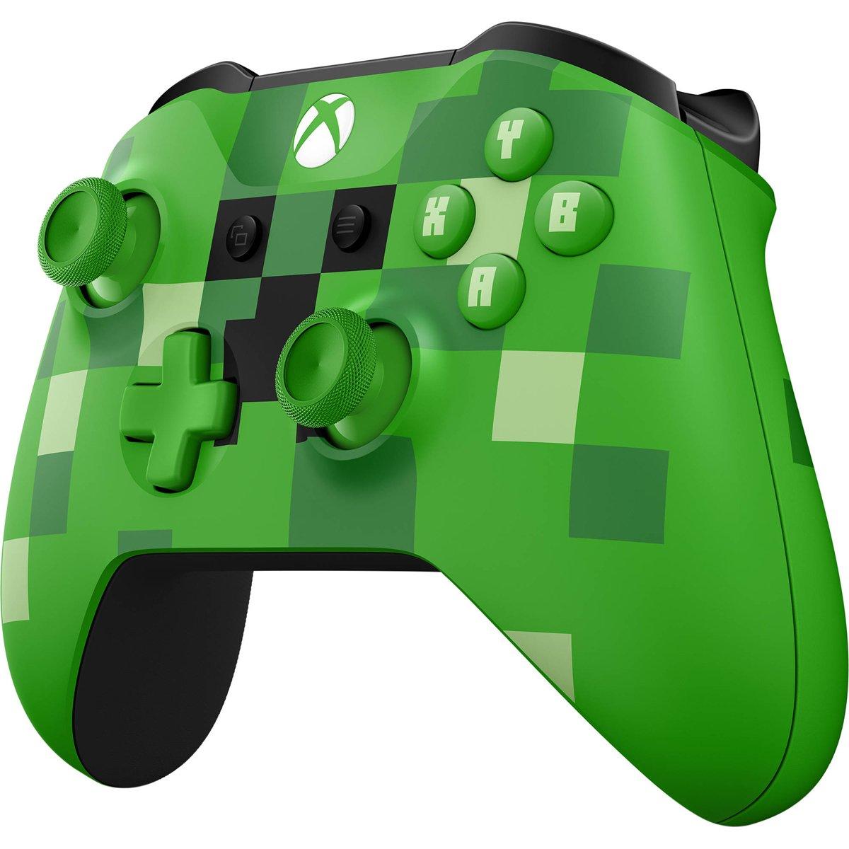 Microsoft Xbox Wireless Controller Minecraft Creeper - Volante/mando: Amazon.es: Videojuegos