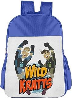 Children's School Bag Wild Kratts Logo Fashion Classic Style Pink