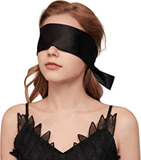 YOMORIO Satin Bandage Blindfold Eye Mask for Sex Adult Bedroom Sexy Playsuit Lingerie Accessories