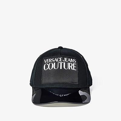 Versace Jeans Couture Logo Tag Cap (Black) Caps