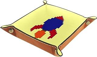 Vockgeng Fusée de Dessin animé Boîte de Rangement Panier Organisateur de Bureau Plateau décoratif approprié pour Bureau à ...