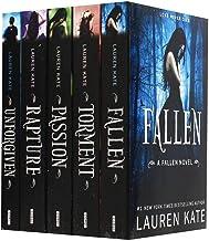 Download Book Lauren Kate Fallen Series 5 Books Collection Set (Fallen, Torment, Passion, Rapture, Unforgiven) PDF