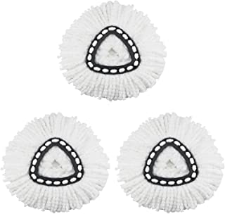 3 Pack Spin Mop Replacement Head for OCedar Microfiber Mop Head Refills Easy Cleaning Mop Head Replacement