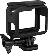 Kupton Frame Case for GoPro Hero 7/ 6/ 5/Hero (2018) with Accessories Quick Pull Movable Socket and Screw (Black)