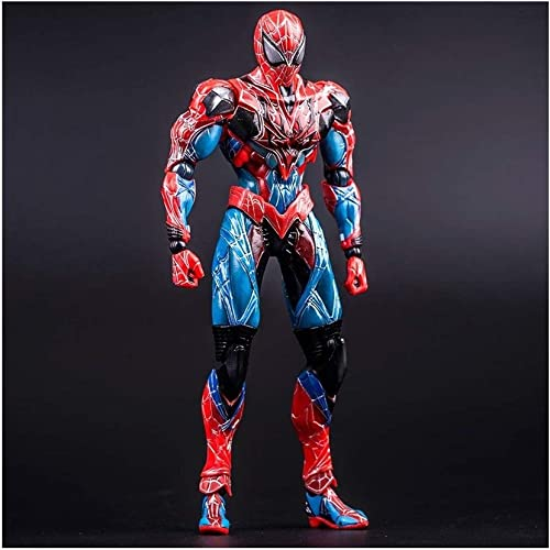QAZSDF Avengers Series - Spider-Man-Figuren Anime-Modell PVC Boxed Boutique Handmade Modell Spielzeug Collectibles