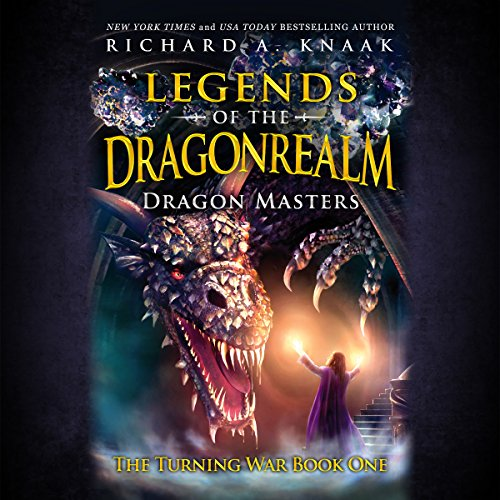 Legends of the Dragonrealm: Dragon Masters audiobook cover art