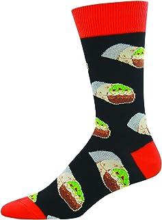 Socksmith, Calcetines para hombre, diseño de burritos, talla única