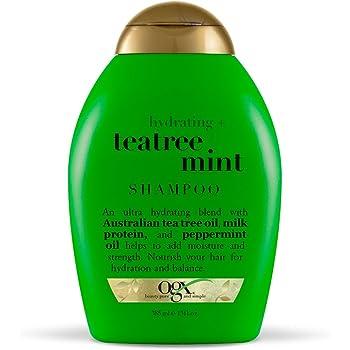 OGX Hydrating + Tea Tree Mint Shampoo, 13 Ounce