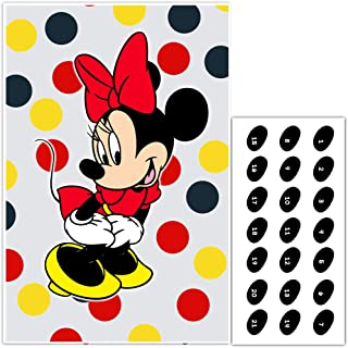 Pin the Nose on Minnie Mouse Birthday Party Game