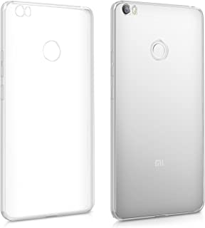 kwmobile 対応: Xiaomi Mi Max ケース - スマホカバー TPUシリコン 耐衝撃 透明 スリム 保護
