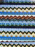 Faschingsstoff Indianer Baumwolle 0,50 m x 1,40 m