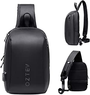 أوزتيف حقيبة ظهر بحزام كتف واحد، متعددة الأغراض للرياضة في الهواء الطلق وحقائب يومية عادية