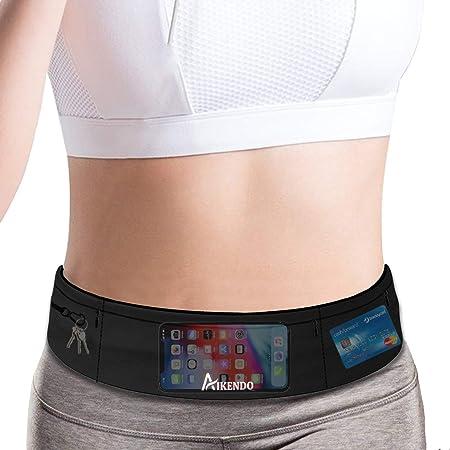 Running Waist Belt Spybelt Pouch Belt For Runners Men Women Android iPhone 8 X 11 Card Wallet Storage Gym Workouts Cycling Jogging Yoga Lightweight