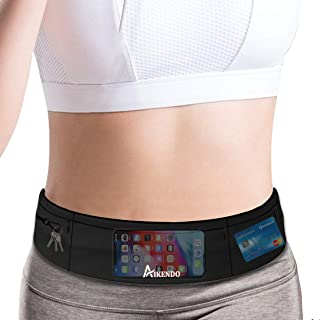 AIKENDO Slim Running Belt Fanny Pack Phone Holder,Fitness...