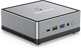 MINISFORUM DeskMini DMAF5 ミニPC AMD Ryzen5 3550H 4C/8T 小型デスクトップpc Windows 10 DDR4 16GB 512GB NVMe SSD 1000M LAN RJ45x2 インテル...