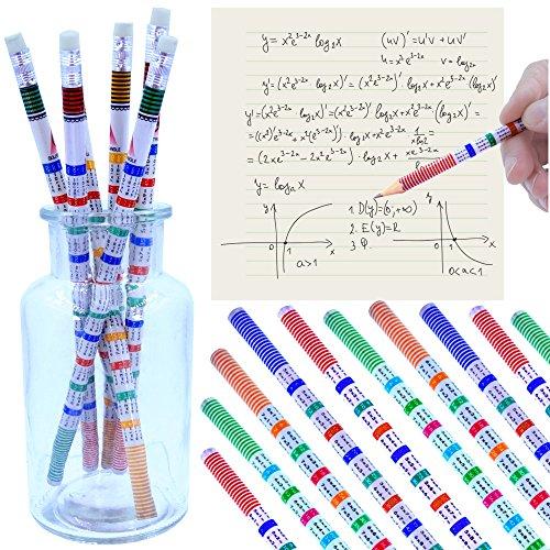 German-Trendseller® - 12 x Party - Bleistifte - Das Kleine Einmal Eins ┃ NEU ┃ Kindergeburtstag ┃ Mitgebsel ┃ Spicker Stifte ┃ 12 Stück