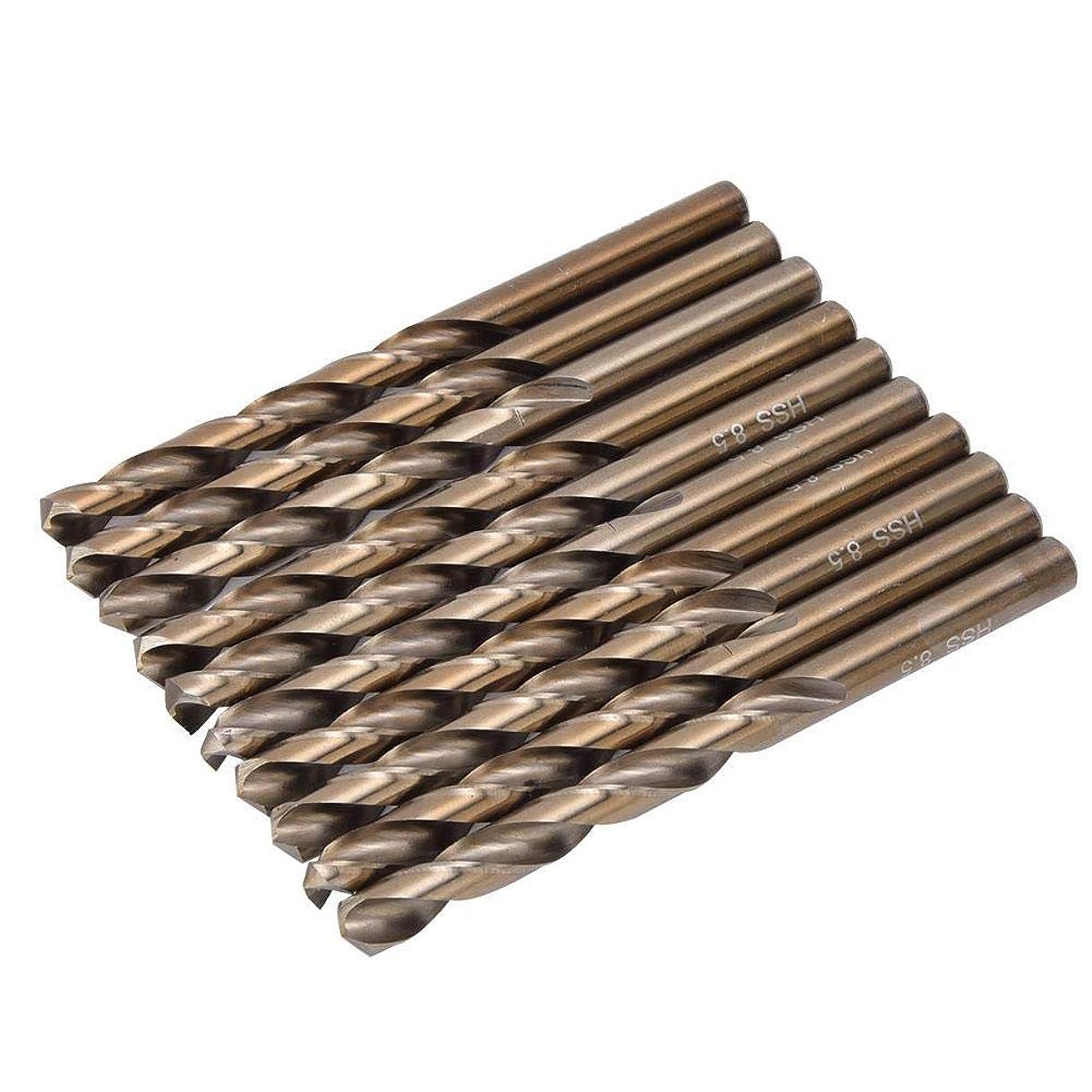 評価可能爆弾フルーツ1ボックスドリルビット高速度鋼ステンレス鋼鉄掘削ツール用ドリルツール鋼ビット山形鋼鉄プレート金属穴オープナー(#2)